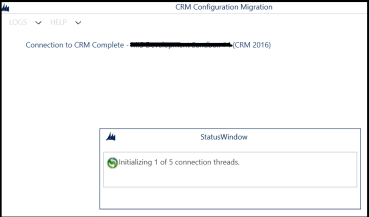 Configuration Migration Utility – Increase number of threads