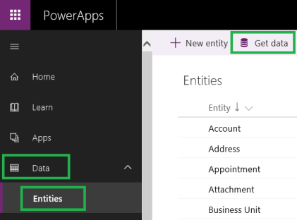 Common Data Service for Apps – Automatically create entity using