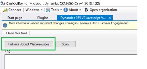 Dynamics 365 V9.0 Upgrade – JavaScript Validator ...