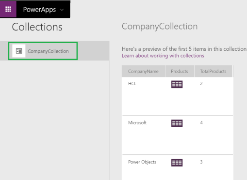 Common Data Service Canvas App – Store and Update data in