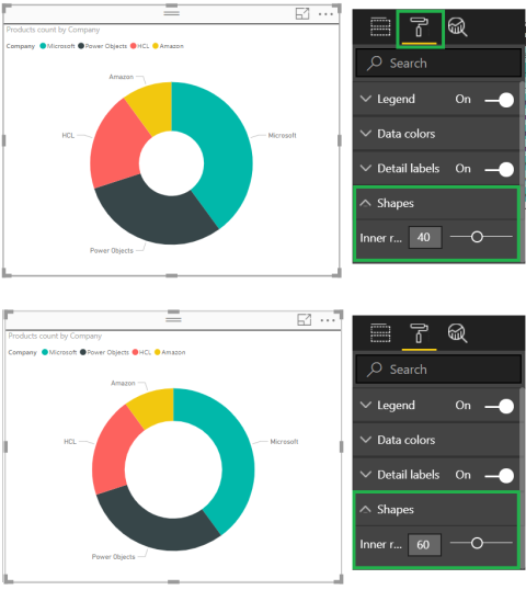 My Favorite Additions – High Contrast Reports and Donut Radius
