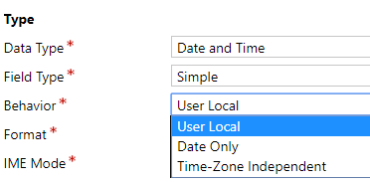 Dynamics 365 – Data Migration – Time-Zone Independent VS User Local