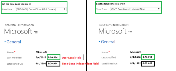 Dynamics 365 – Data Migration – Time-Zone Independent VS
